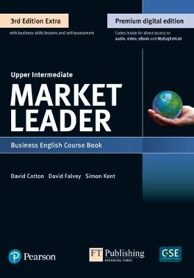 9781292361147 - Market Leader 3e Extra Upper Intermediate Course Book, eBook, QR, MEL & DVD Pack