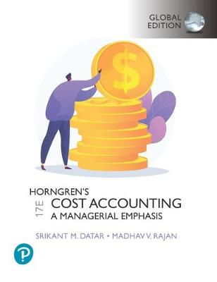 9781292363073 - Horngren's Cost Accounting, Global Edition