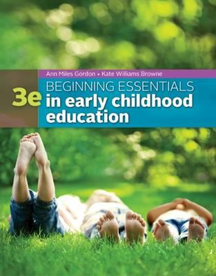 9781305089037 - Beginning Essentials In Earlychildhood Education