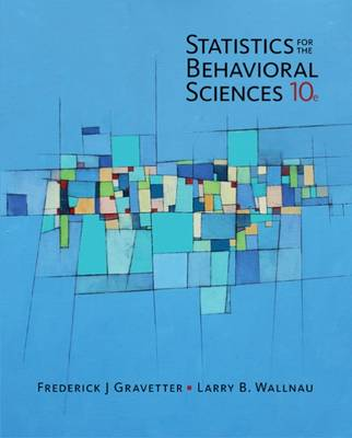 9781305504912 - Statistics for The Behavioral Sciences