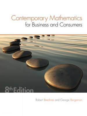 9781305585447 - Contemporary Mathematics Business & Consumers
