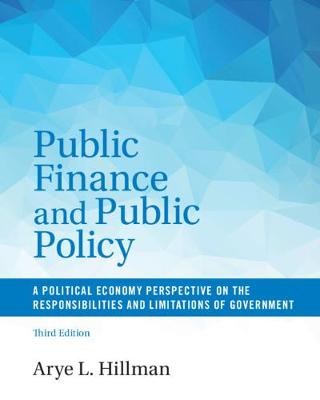 9781316501801 - Public Finance and Public Policy