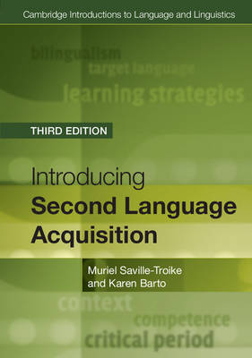 9781316603925 - Introducing Second Language Acquisition