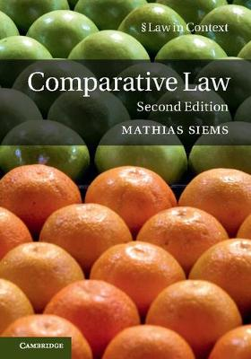 9781316633557 - Comparative Law