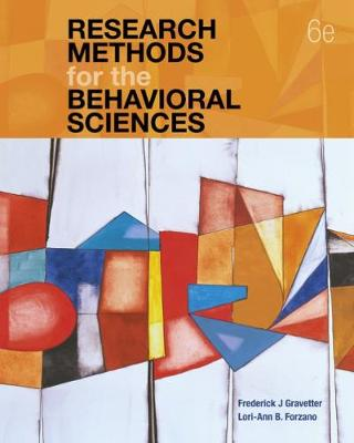 9781337613316 - Research Methods for the Behavioral Sciences