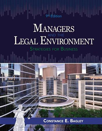 9781337671552 - Managers and the Legal Environment: Strategies for Business