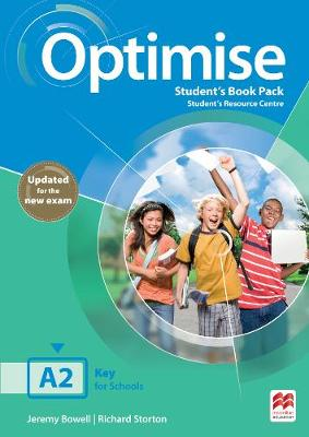 9781380031877 - Optimise A2 Student's Book Pack