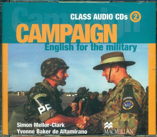 9781405009881 - Campaign english for the military class audio-cd's 2