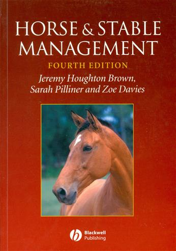 9781405100076 - Horse and stable management