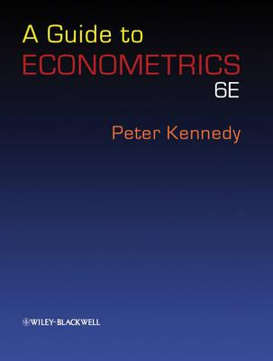 9781405182577 - A Guide To Econometrics
