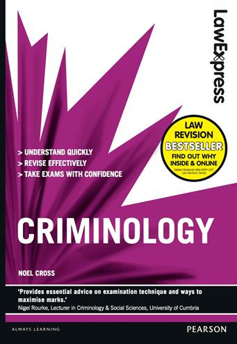 9781405899154 - Law Express: Criminology (Revision Guide)