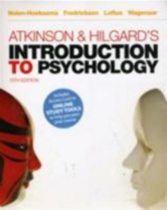 9781408018989 - Atkinson and Hilgard's Introduction to Psychology (with CengageNOW)