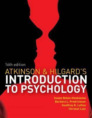 9781408089026 - Atkinson & Hilgard's Introduction to Psychology