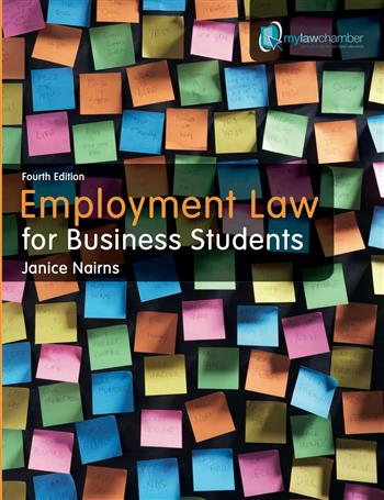 9781408225448 - Employment Law for Business Students