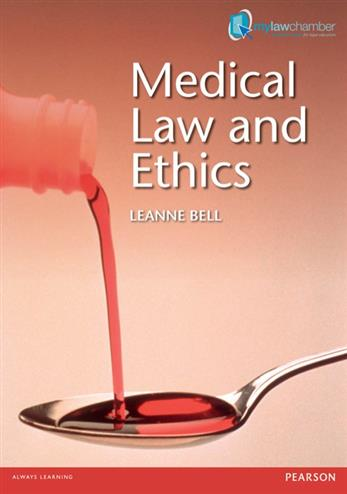 9781408241332 - Medical Law and Ethics