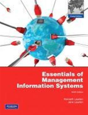 9781408265413 - Essentials of management information systems