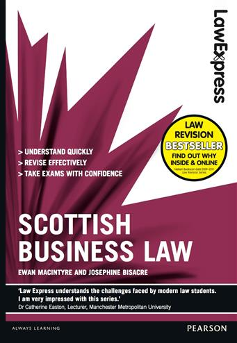 9781408296035 - Law Express: Scottish Business Law (Revision guide)