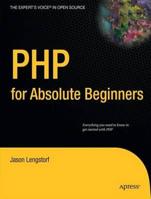 9781430224730 - Php 6 for absolute beginners
