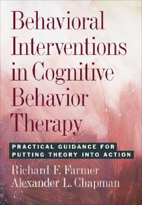9781433802416 - Behavioral interventions in cognitive behavior therapy