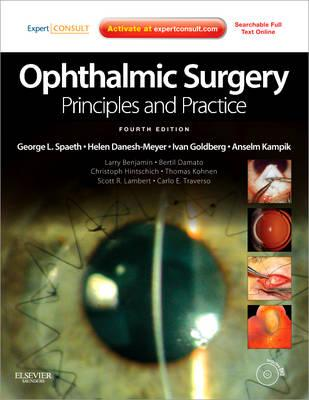 9781437722505 - Ophthalmic surgery: principles and practice expert consult