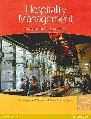 9781442534797 - Hospitality Management:Strategy & Operations