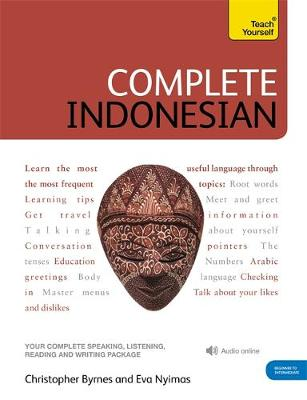 9781444102338 - Teach Yourself Complete Indonesian (Bahasa Indonesia)