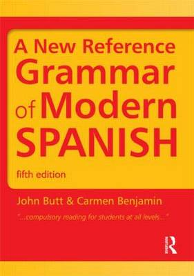 9781444137699 - A New Reference Grammar of Modern Spanish