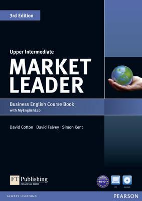 9781447922292 - Market leader upper intermediate coursebook with dvd-rom inc. class audio and mylab access code pack