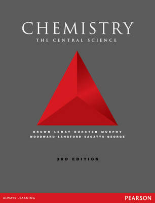 9781447974994 - Chemistry:The central science, plus MasteringChemistry with Pearson eText