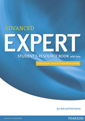 9781447980605 - Advanced expert student's resource book with key