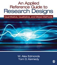 9781452205090 - Applied Reference Guide To Research Designs