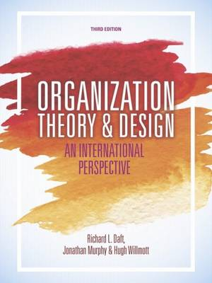 9781473726383 - Organization Theory and Design
