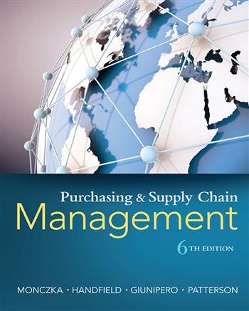 9781473736191 - Purchasing and supply chain management