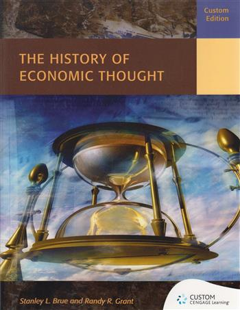 9781473738393 - Custom: the history of economic thought