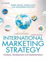 9781473758742 International Marketing Strategy: Analysis, Development and Implementation