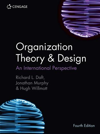 9781473765955 - Organisation Theory and Design