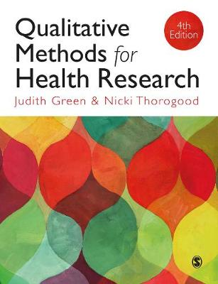 9781473997110 - Qualitative Methods for Health Research