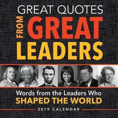 9781492663645 - 2019 Great Quotes from Great Leaders Boxed Calendar