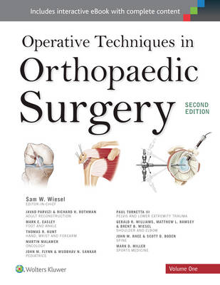 9781496314758 - Operative Techniques in Orthopaedic Surgery