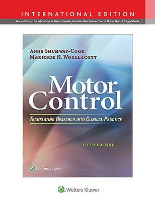9781496347725 - Motor Control: Translating Research into Clinical Practice