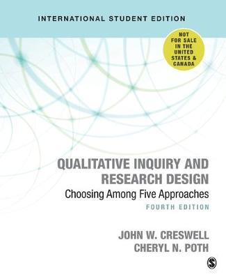 9781506361178 - Qualitative Inquiry and Research Design: Choosing Among Five Approaches