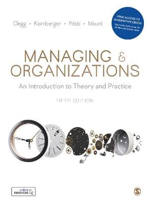 9781526487964 - Managing and Organizations
