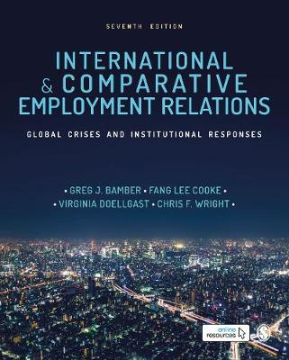 9781526499653 - International and Comparative Employment Relations: Global Crises and Institutional Responses