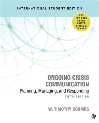 9781544328690 - Ongoing Crisis Communication