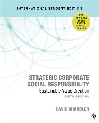 9781544372228 - Strategic Corporate Social Responsibility: Sustainable Value Creation  (International Student Edition)