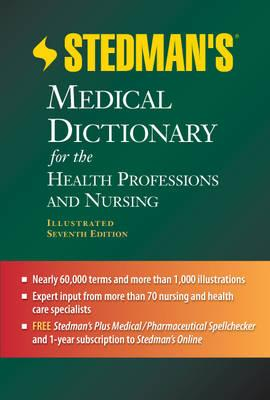 9781608316922 - Stedman's medical dictionary for the health professions and nursing (+ cd-rom)