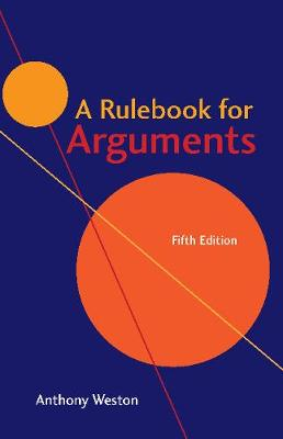 9781624666544 - A Rulebook for Arguments