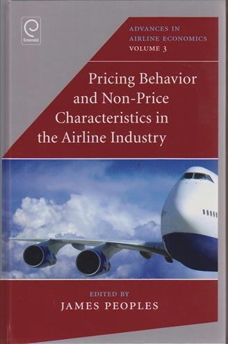9781780524689 - Pricing behaviour and non-price characteristics in the airli ne industry