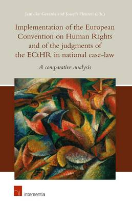9781780682174 - Implementation of the European Convention on Human Rights and of the judgments of the ECtHR in national case law