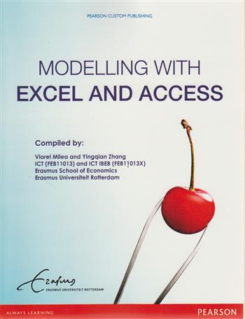 9781780868646 - Modelling with exel and access